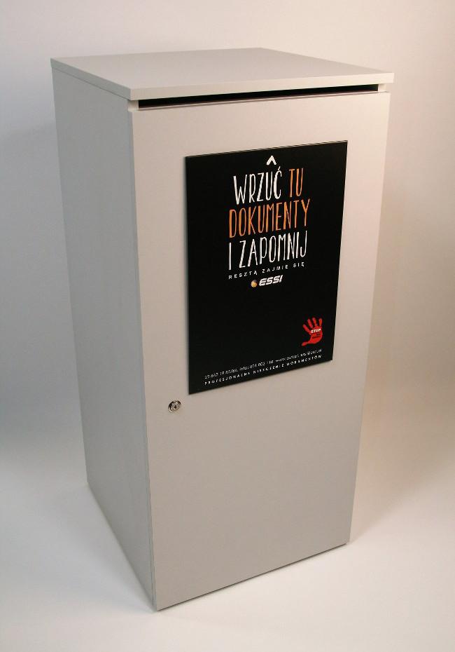 Profesjonalne szafki na nepotrzebne dokumenty