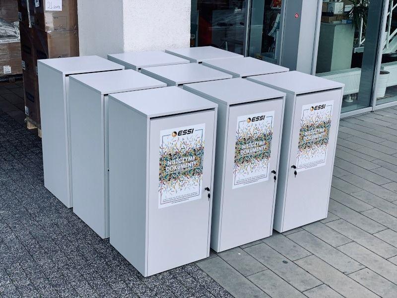 szafki do niszczenia dokumentow poznan